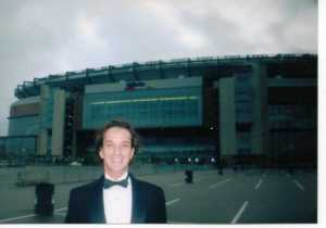 May, 2005: outside Gillette Stadium...