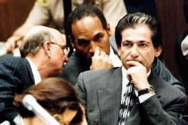 Robert Kardashian (right) & O.J. Simpson, 1995