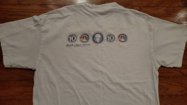 WCAU NBC10 Philadelphia breaking news blue light shirt back