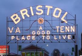 "Bristol TN/VA sign ""Good Place To Live"""