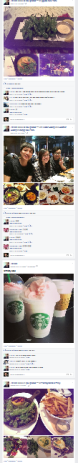 FB full of food