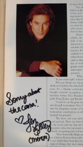 john coma autograph