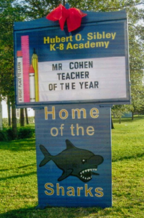 2012-06 Teacher of the Year marquee