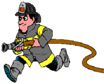cartoon firefighter