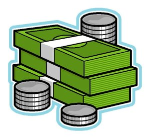 money dollars cents