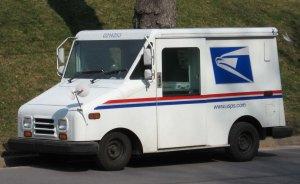 postal truck