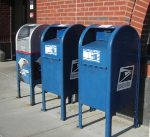 us post office mailboxes