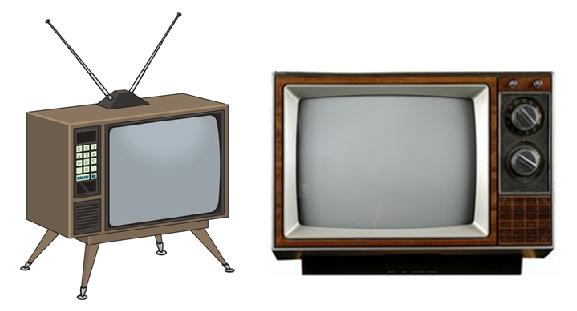 old tv sets