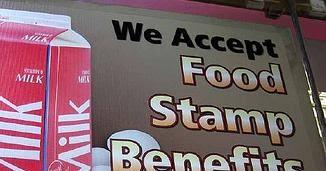 food stamp sign