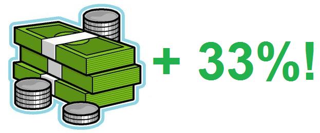 money x 33