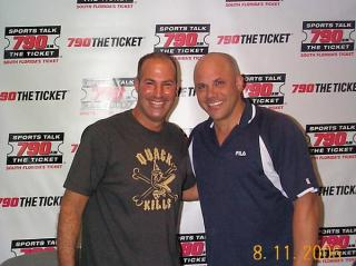 With Yankees great Jim Leyritz