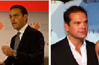 James & Lachlan Murdoch, both Wikipedia