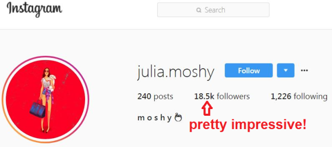 julia moshy instagram