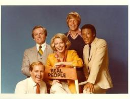 Real People cast