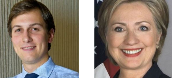 jared kushner hillary clinton