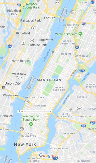 map manhattan
