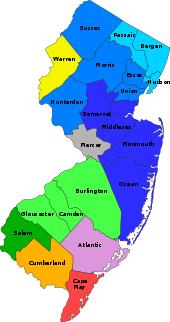 map New Jersey Wikipedia