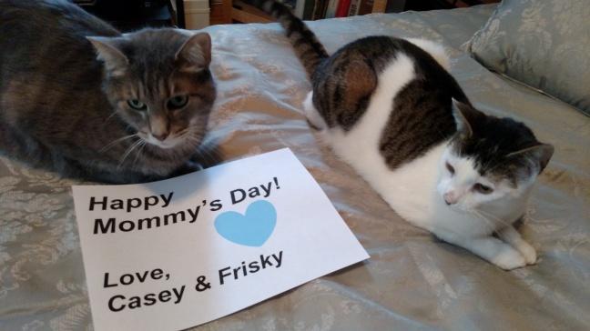 casey frisky mothers day