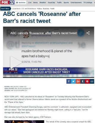 http://www.fox32chicago.com/news/roseanne-barr-quits-twitter-after-offensive-statements-about-valerie-jarrett-chelsea-clinton