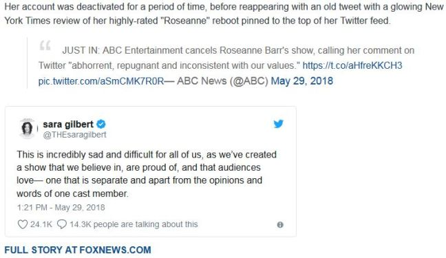 end roseanne local articles