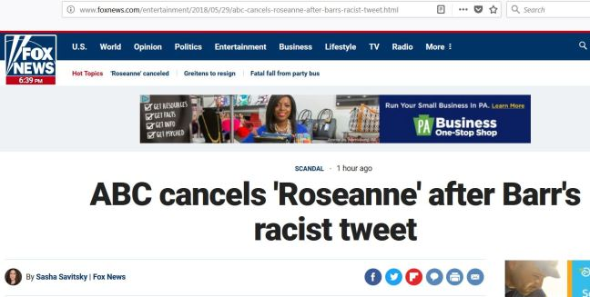Fox News Roseanne