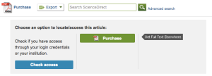 paywall Science Direct
