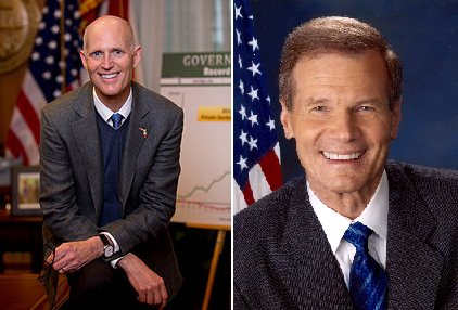 rick scott bill nelson