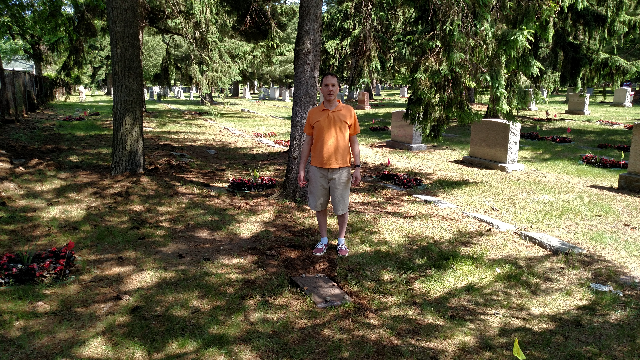 2018 after cemetery