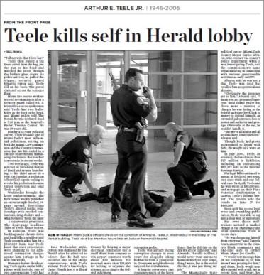 Arthur Teele Miami Herald