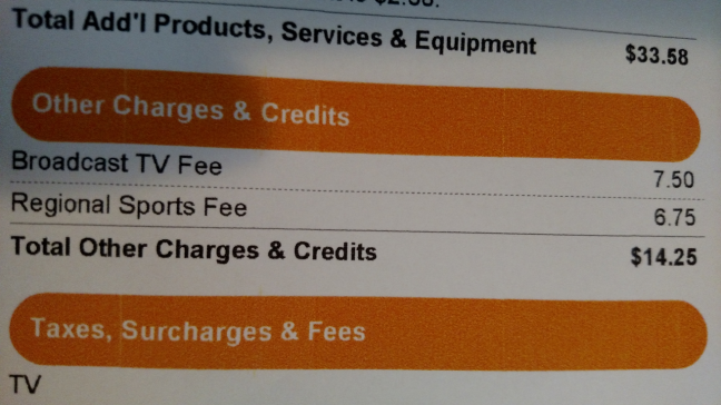 broadcasting sports fees
