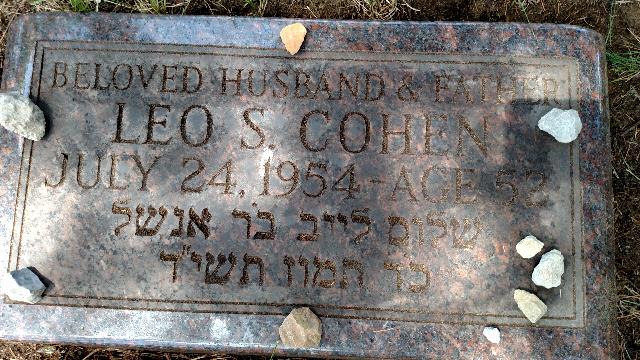 Grandpa Leos grave
