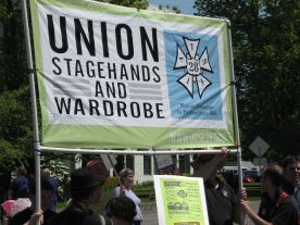 Union IATSE Stagehands Wardrobe