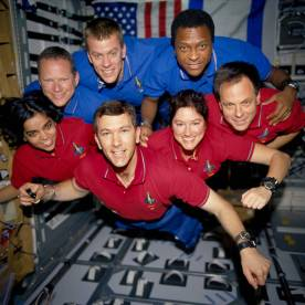 2003-01 Space Shuttle Columbia sts-107 astronauts
