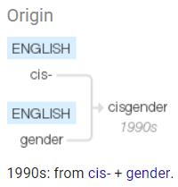 cis gender