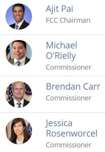 fcc commissioners 2018