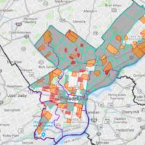 map philadelphia neighborhoods