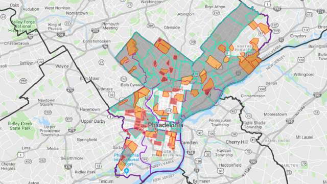 map philadelphia neighborhoods