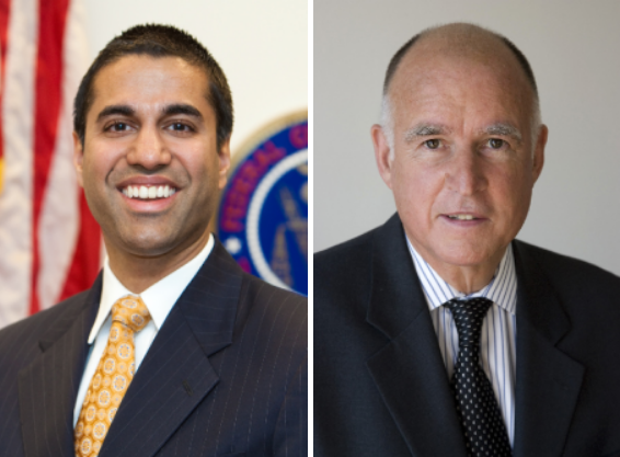 ajit pai jerry brown