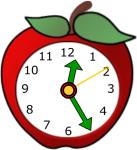 clock school