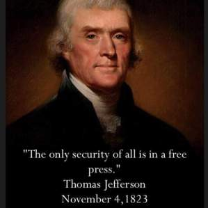 thomas jefferson free press