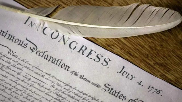 declaration of independence from snopes