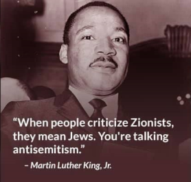 mlk zionists jews