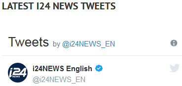 i24 news tweets header