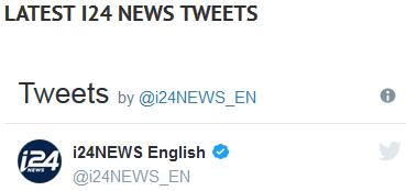 i24 news tweets header