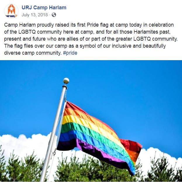 Harlam pride flag